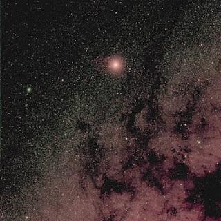 Marte y la Vía Láctea