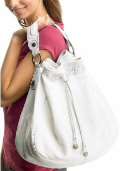 Gap Leather cinch hobo