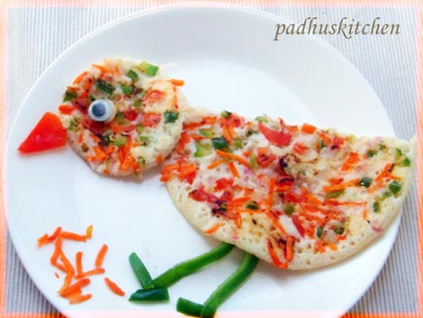 Vegetable uthappam