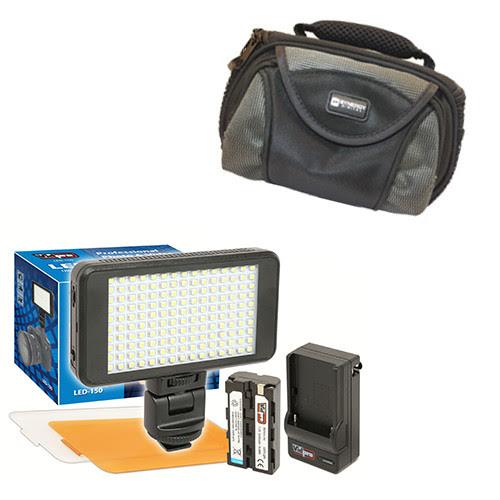 Vidpro Ultra Slim Led 150 Video And Photo Led Light Kit With Sdc 26
