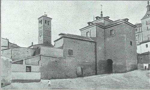 Iglesia de San Miguel. Revista La Esfera, 1918. Foto Villalba