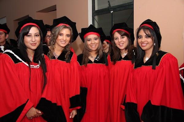 Reunión de estudiantes que se gradúan en febrero 2011