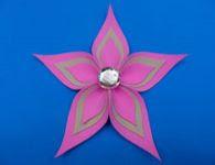 Como fazer uma belíssima flor de EVA de 5 pétalas