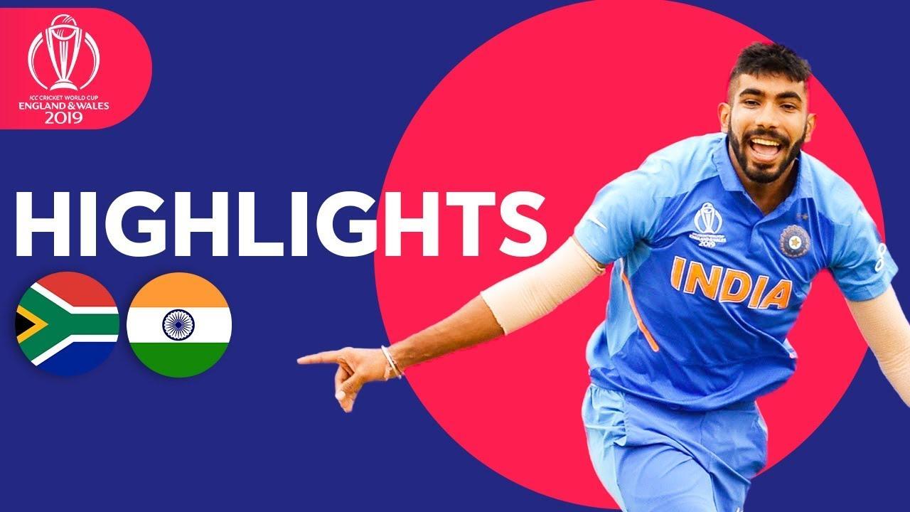 Wahab Stuns Hosts!   England vs Pakistan - Match Highlights   ICC Cricket World Cup 2019 - South Africa vs Pakistan