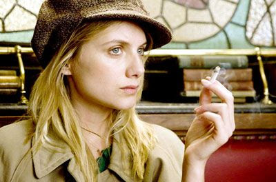 Shosanna Dreyfus (Mélanie Laurent) is out to seek revenge in INGLOURIOUS BASTERDS.