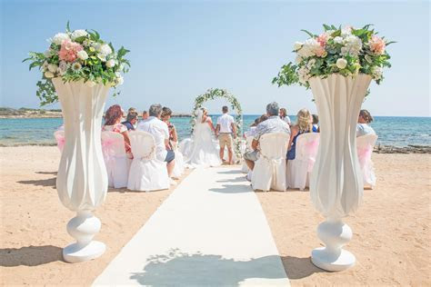 Dome Beach Weddings Abroad in Cyprus