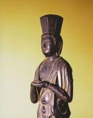 按針が持っていた念持仏(銅製の観音像)