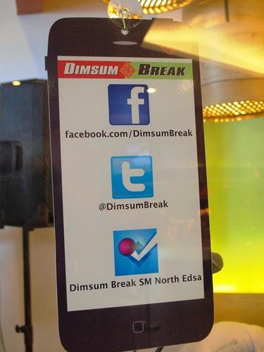 Dimsum Break in SM City North EDSA