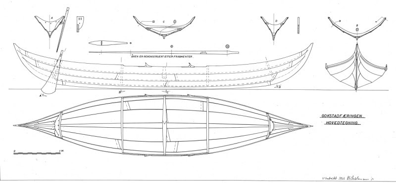 planning on building an 18' replica viking ship in plywood lapstrake