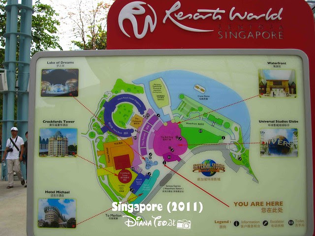 Day 2 Singapore - Universal Studio 01