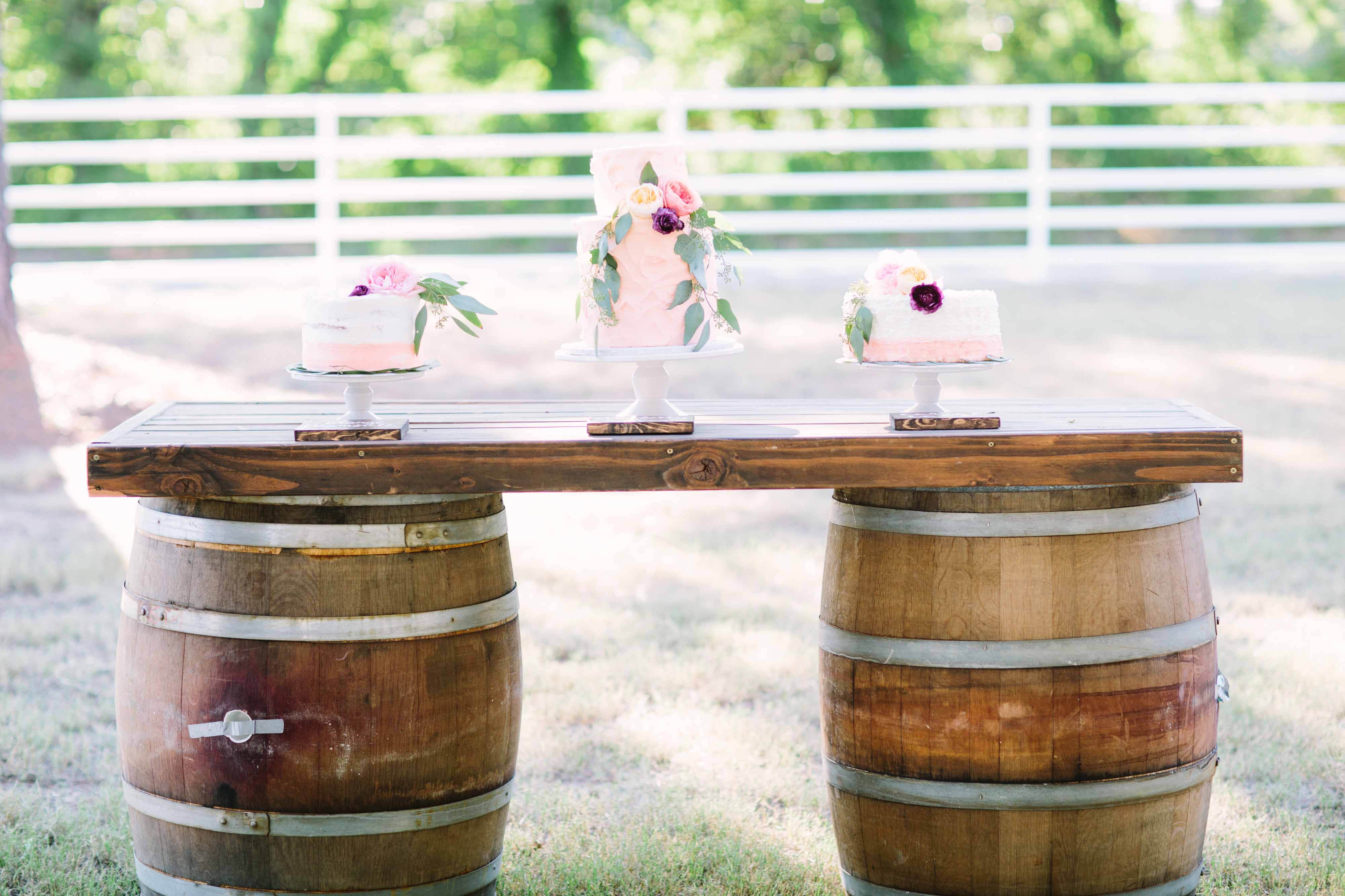 Whiskey Barrel Table Party And Wedding Rentals For Denton And