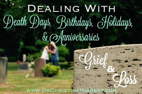 Dealing With Grief   Dr. Christina Hibbert