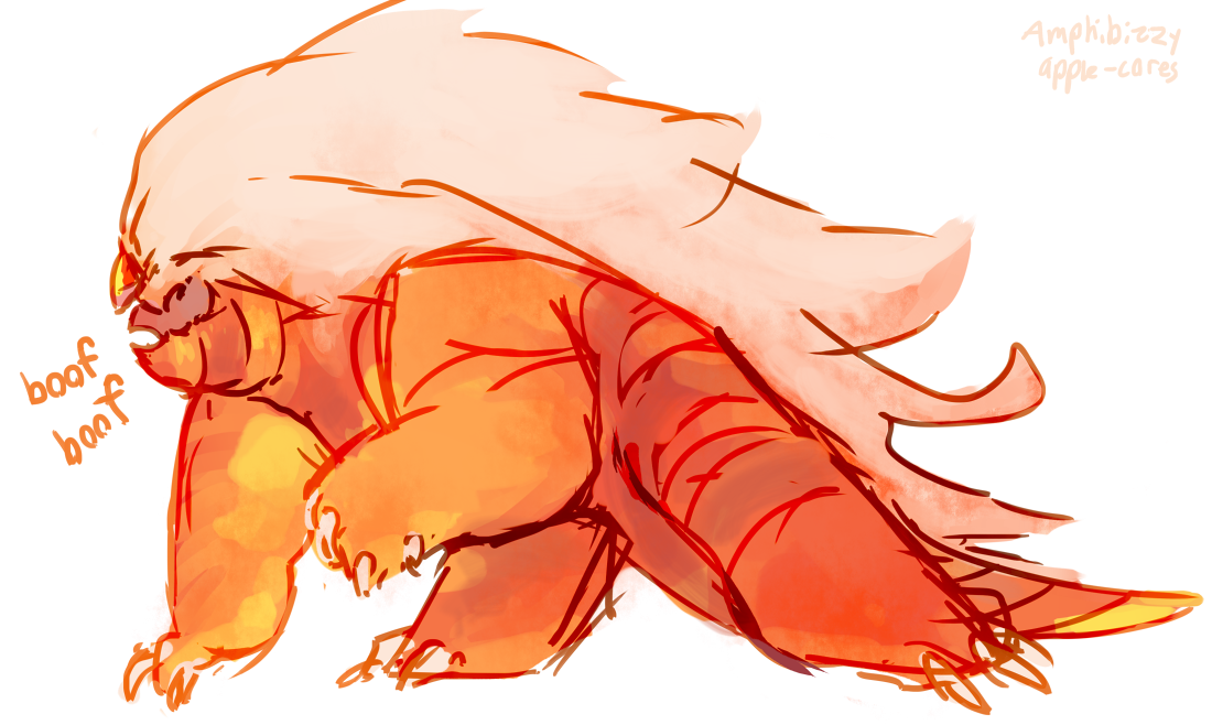 doodled my old corrupt jasper last stream ! shes covered in cheeto dust…