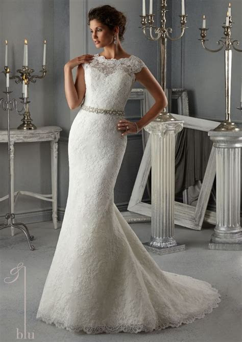 bridal dress from Blu by Mori Lee Dress Style 5268 Allover