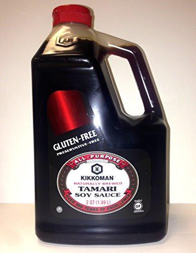 Kikkoman Gluten-Free Tamari Soy Sauce (2Qt (1.89L)) Food ...