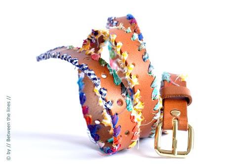 Bohemian style belt