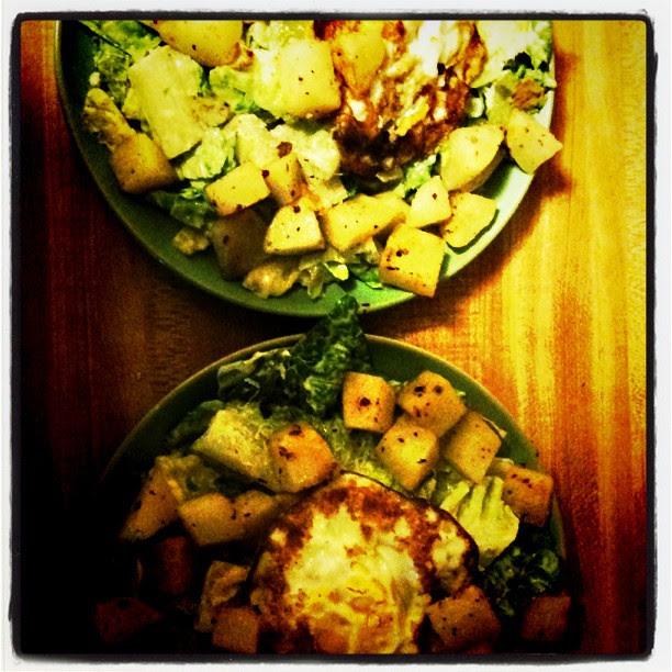 Instragram - caesar salad