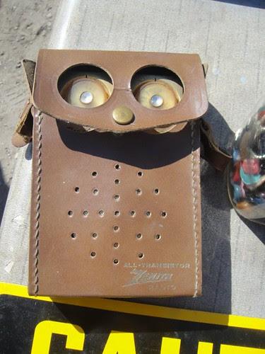 Owl Antique Radio :)