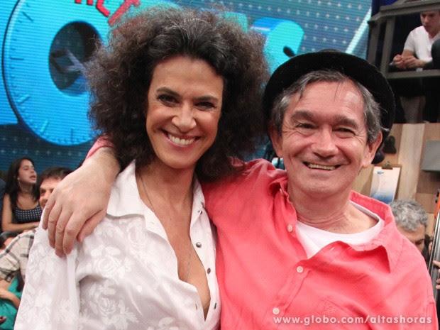 Simone participa do programa Altas Horas deste sábado (Foto: TV Globo/Altas Horas)