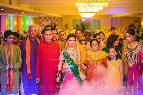Ayeza Khan and Danish Taimoor Mehndi Celebrations ~ Mayoon