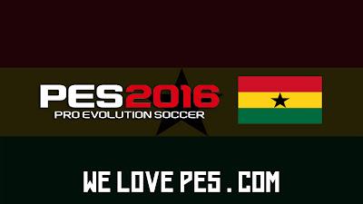 Ghana | Real Names | Players | PES 2016