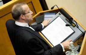 President Ilves riigikogule: et siin enam ühtki korruptiivset seadust vastu ei võetaks!
