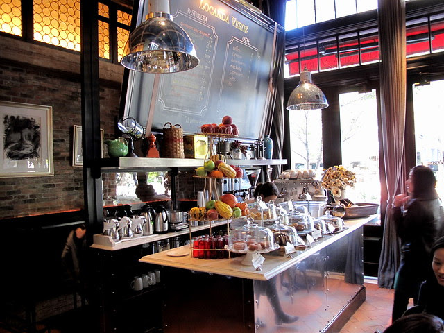 Coffee bar at Locanda Verde - NYC