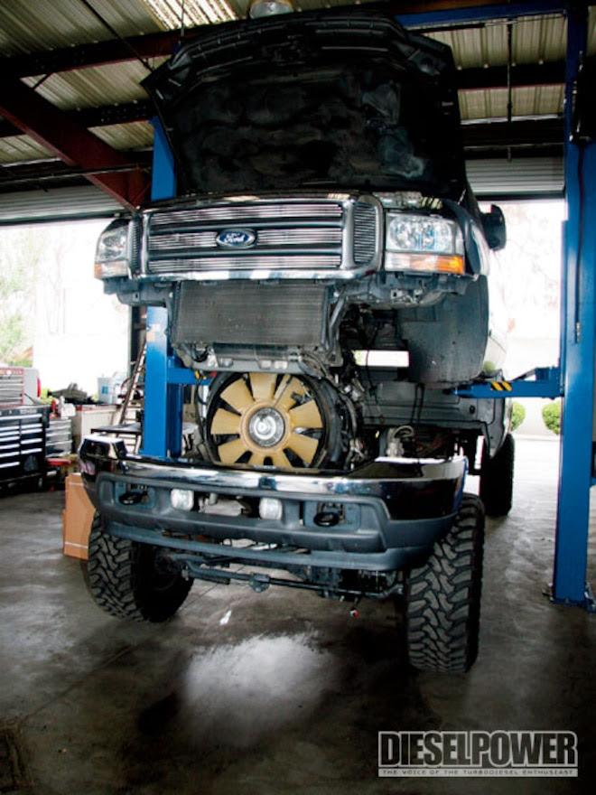6 0l Ford Power Stroke Engine Ford Diesel Trucks Diesel Power Magazine