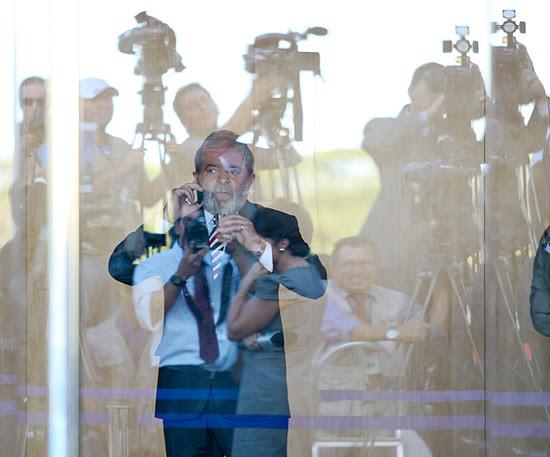Ex-presidente Lula participou da inauguração da nova embaixada da Argentina em Brasília