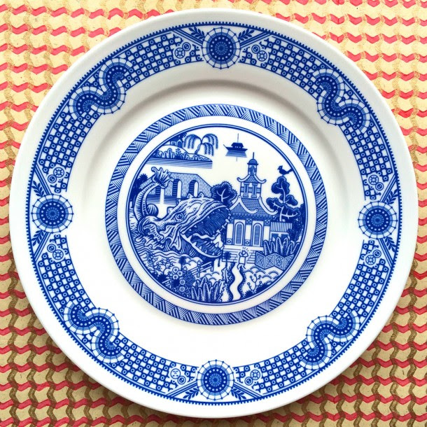 """Calamityware"" a series of untraditional dishes by Don Moyer"