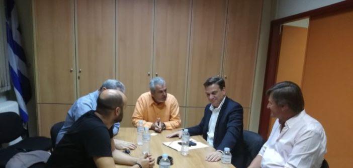 Θάνος Μωραΐτης στο Εργατικό Κέντρο Μεσολογγίου: «Η κυβέρνηση εντείνει την επίθεση στον κόσμο της εργασίας» (ΦΩΤΟ)