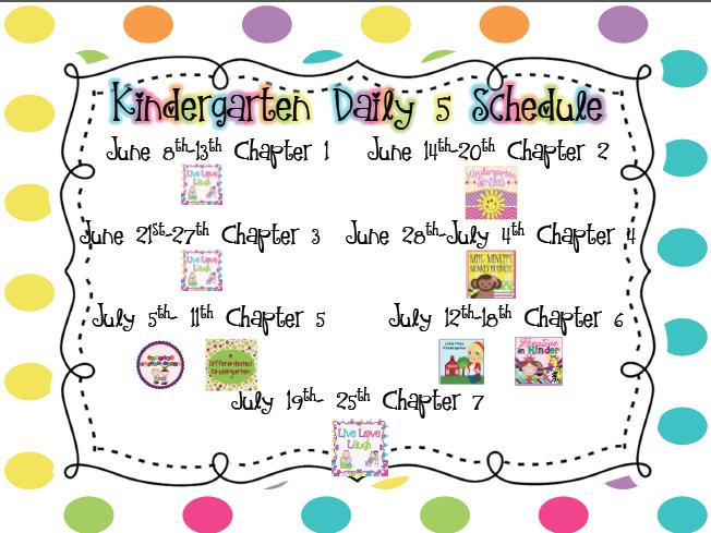 Live, Love, Laugh Everyday in Kindergarten: Kindergarten Daily 5 ...