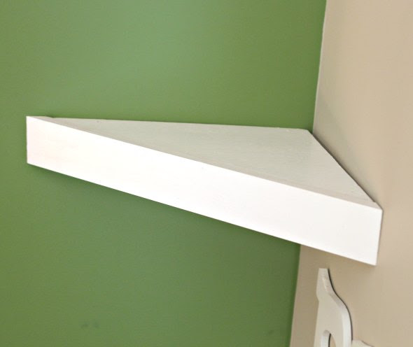 How To Build A Corner Shelf