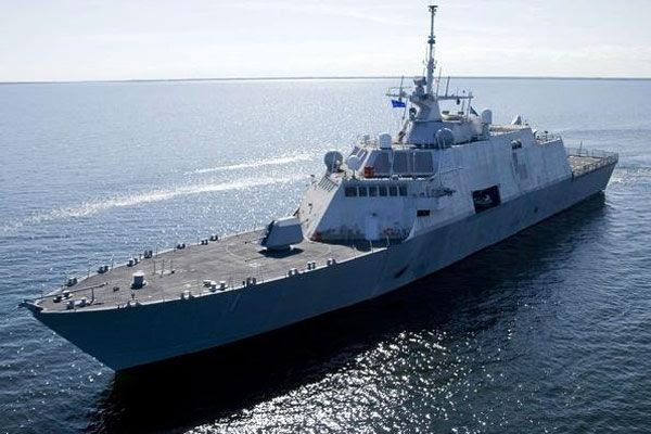 The Littoral Combat Ship USS Freedom.