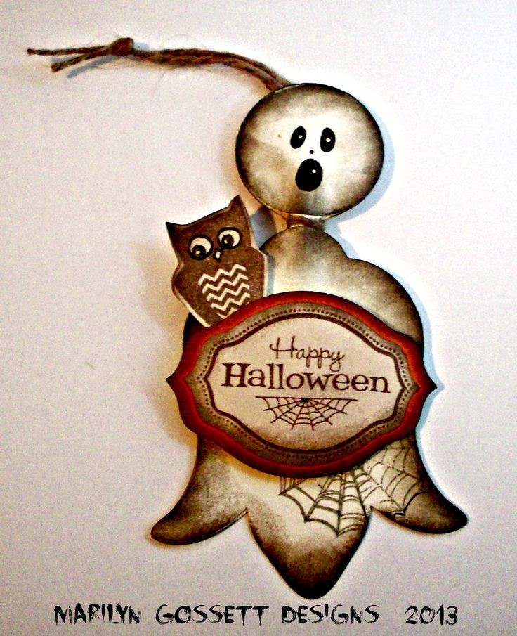 Tag/Ornaments - October goodies!