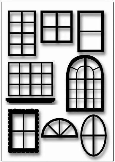 Living A Doll's Life : Make Window Views - for Doll House