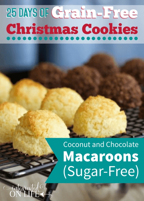Sugar-Free, Grain-Free Coconut & Chocolate Macaroons