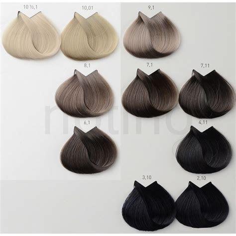 loreal professionnel majirelbarva na vlasy loreal ash blonde ash blonde brown hair chart