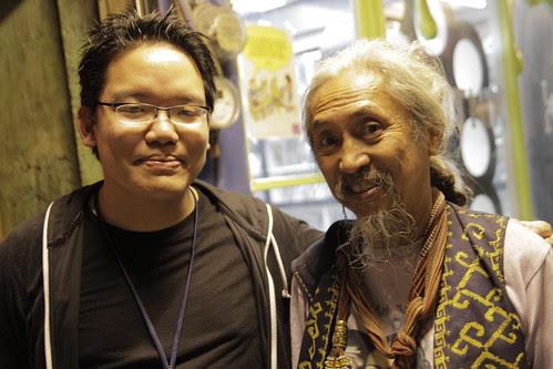 With godfather of Filipino films Kidlat Tahimik