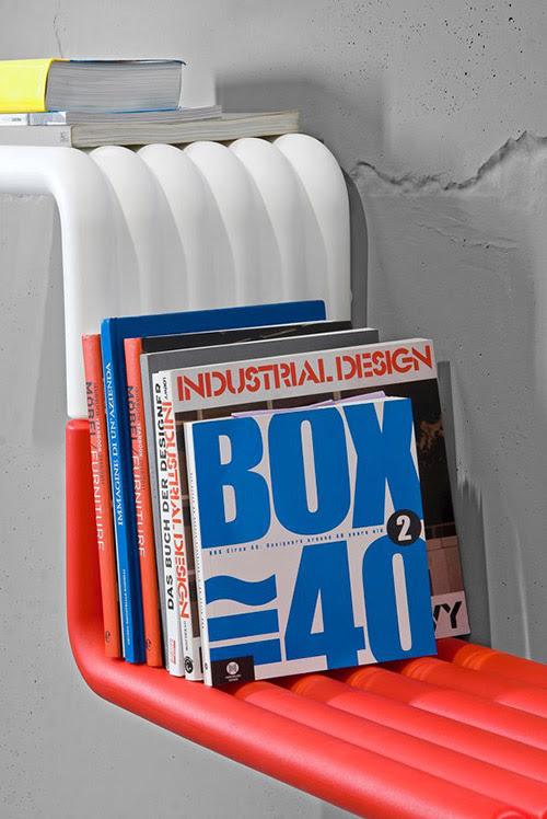 Innovative Bookshelves Design by B-LINE - Liquorice