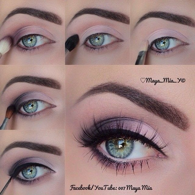 Beautiful Easy Eye Makeup Tutorial Pictures, Photos, and ...