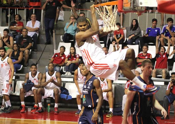 Felicio Flamengo x bauru NBB (Foto: Marco Aurélio / Fla Imagem)