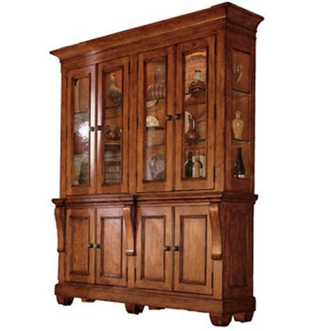 Two Piece China Hutch by Kincaid Furniture   Wolf and Gardiner Wolf Furniture