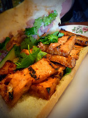 Tofu Vietnamese Sandwich