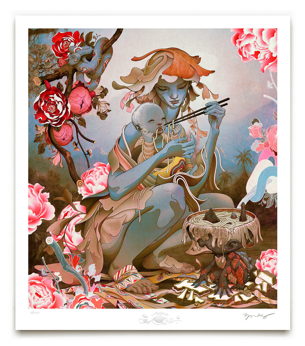 """Udon II"" by James Jean"