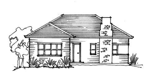 beautiful simple house sketch building plans