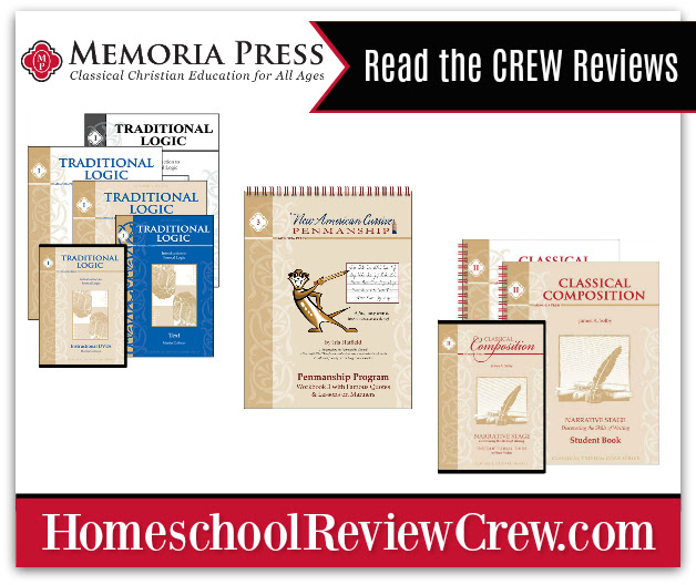 New American Cursive & Traditional Logic {Memoria Press Reviews}
