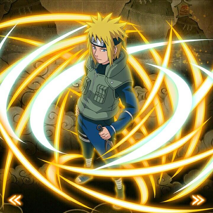 Naruto Et Minato Wallpaper