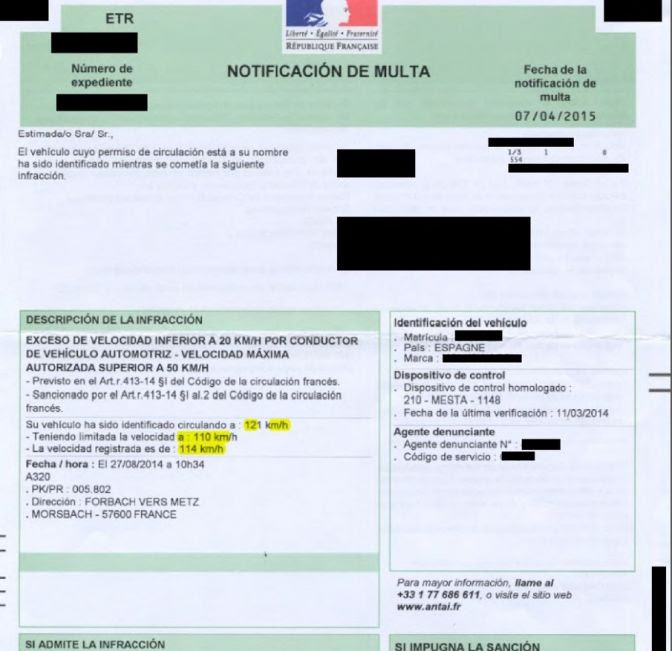 Un conductor español no perderá puntos del carné si le sancionan en la UE, pero podrá ser llevado a juicio