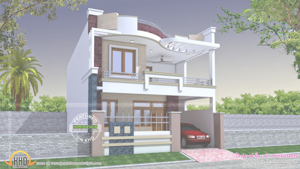 Beautiful Home Designs In India Prepossessing Cube Home Simple House Design For New Model House Design Ideas House Generation